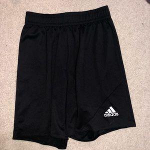 S Black Adidas Shorts